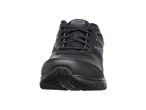 (ニューバランス) New Balance レディースウォーキングシューズ?靴 WW411v2 Black 8.5 (25.5cm) D - Wide