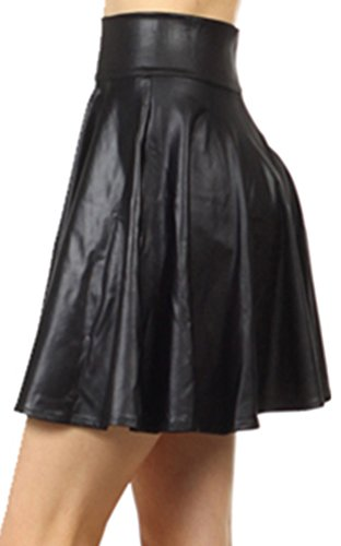 Simplicity Womens Leather Waist Pleated