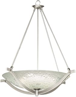 product image for Kalco Lighting 6152FSN Luna Up Light Pendant Light - Satin Nickel