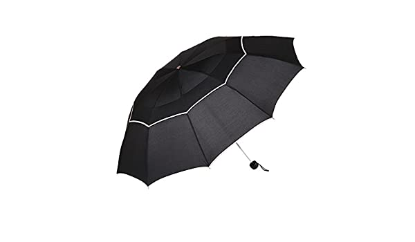 Amazon.com: Big Umbrella Men Rain Woman Windproof Large Paraguas Parapluie Black: Sports & Outdoors