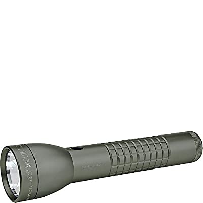 MagLite ML300LX LED 2-Cell D Flashlight, Matte Black