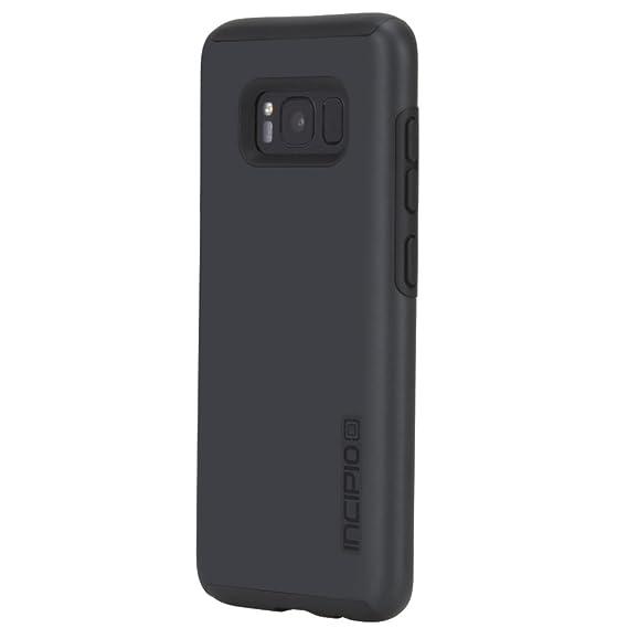 buy online 66640 efc64 Samsung Galaxy S8 Case, Incipio [Hard Shell] [Dual Layer] DualPro Case for  Samsung Galaxy S8-Iridescent Black/Black