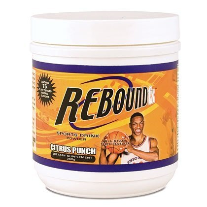 International Shipping  Rebound Fx Citrus Punch Powder Youngevity Vitamin Sports Recovery Drink 360G Canister Dr Wallach