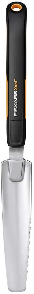 Fiskars 315540-1001 Xact Garden Hand Weeder, Black/Silver