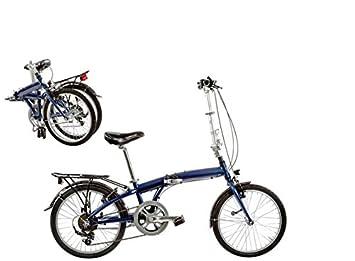 Bicicleta 20 Plegable 7 V aluminio a-fold20 C7 V Made in Italy