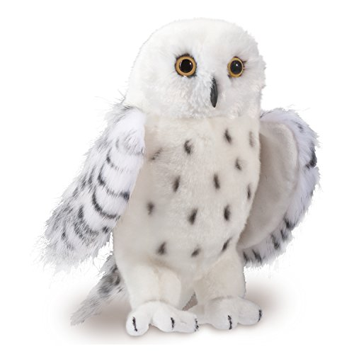 Douglas Cuddle Toys Legend Snowy Owl Stuffed Plush Animal]()