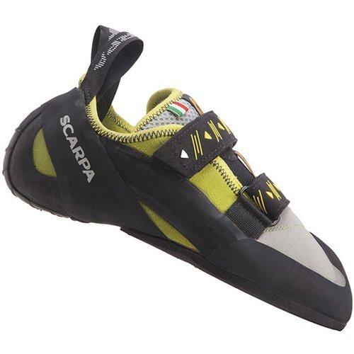 Scarpa Men's Vapor V Climbing Shoe, Lime, 43.5 EU/10 1/3 M US by SCARPA