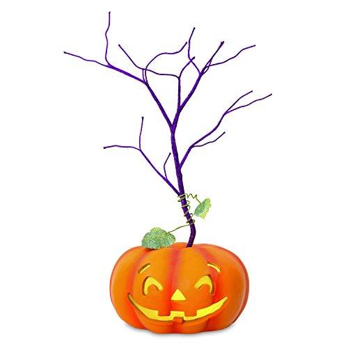 Hallmark Keepsake Halloween Decor Mini Tree With Light 2018 Year Dated, for Miniature Ornaments, 11.5