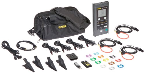AEMC 2137.52 Single/Three-Phase Power and Energy Data Logger with LCD (Power Supply Hz 400)