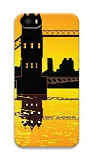 Bridge Over Water21 PC Case Cover for iPhone 5 and iPhone 5s 3D