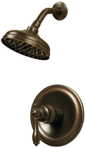 Pegasus 874-5696H Estate Watersense Single-Handle 1-Spray Shower Faucet Only in Heritage Bronze