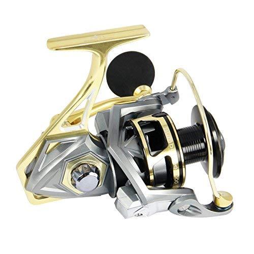 (AnglerDream Bumblebee Fishing Reels 2500 Series Sea Fishing Reel 10BB 5.2:1 Ratio Saltwater Fishing Reels)