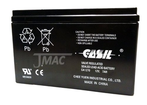 CASIL 12V 7AH CA1270 First Alert ADT Alarm Battery