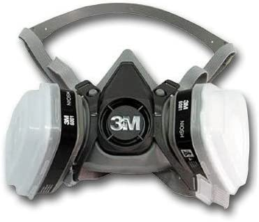 3m 6000 half facepiece mask