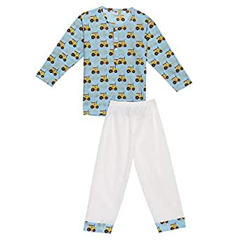 Vtwo Sleepwear - Blue/White, 12 Months