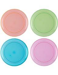 Тарелка Hard Plastic Plates - Round