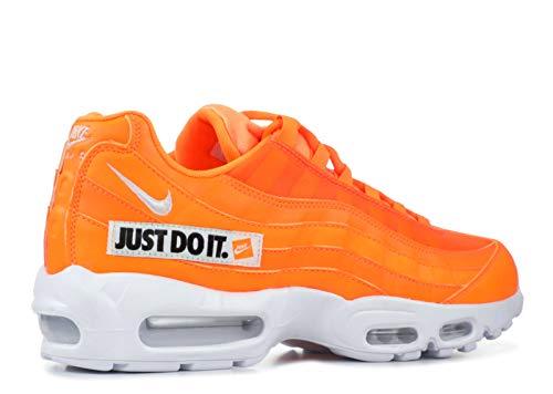 Scarpe misti 95 nero Nike totale per multicolor da 800 Se ginnastica arancione adulti basse Max Air bianco SZIZP