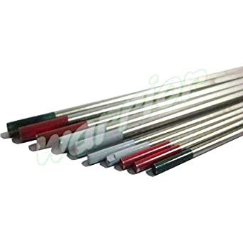 Pipe TIG Welding DC Tungsten Electrodes 2/% Ceriated WC20 1.6//2.4mm x 150mm