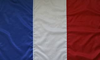 product image for Handmade 3'X5' Nylon France Flag - Sewn Stripes - 100% Made in The USA