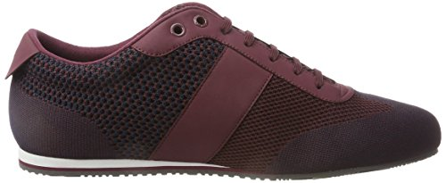 BOSS Green Lighter_lowp_sykn 10199155 01, Zapatillas para Hombre Rojo (Dark Red)