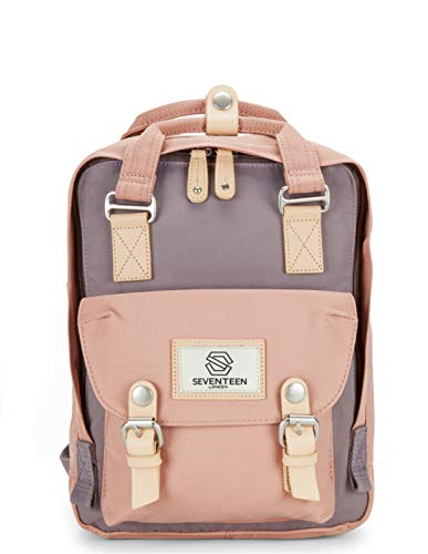 SEVENTEEN LONDON - Marylebone Classic Unisex Waterproof Backpack for College School Travel Luggage Bag - 10.9