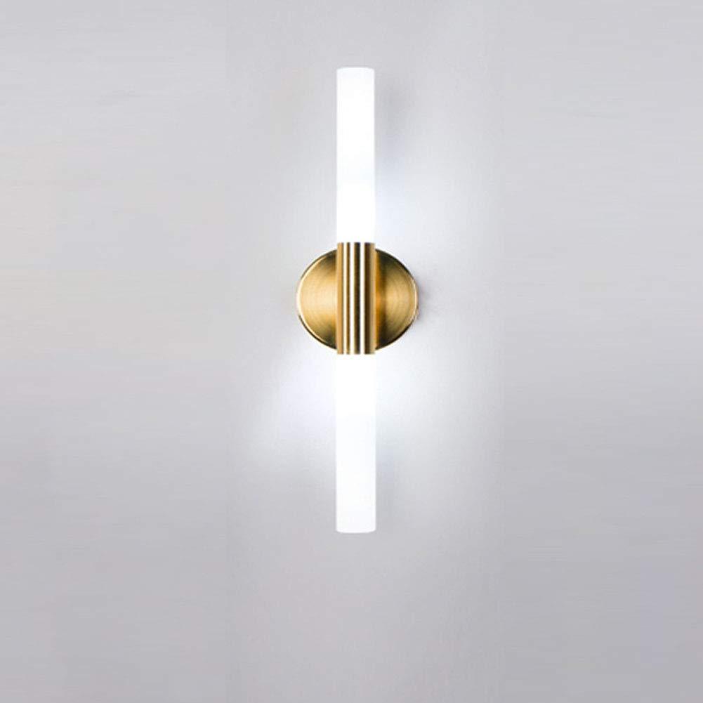 Moderne LED Wandleuchte Creative Persönlichkeit Wandlampe Up and Down Acryl Lampenschirm 2 Lichter Drehbare Innen Art Deco Beleuchtung Lampen Gold