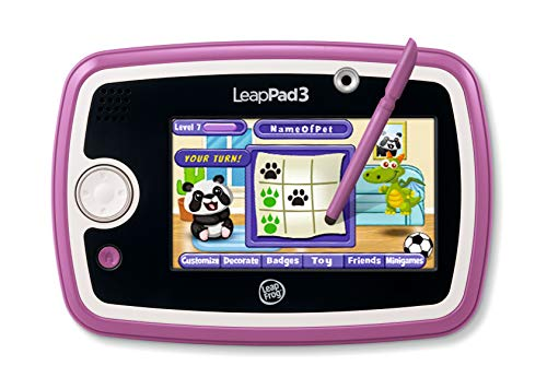 LeapFrog LeapPad3 Kids' Learning Tablet, Pink (Top 100 Best Android Games)