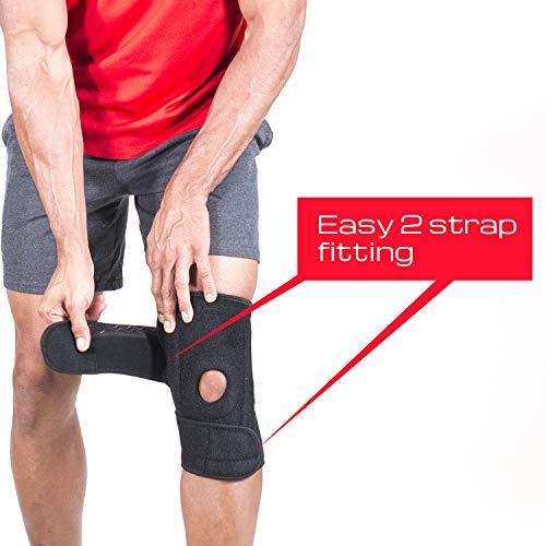 Knee Brace Support Stabilizing Open Patella Neoprene (1)