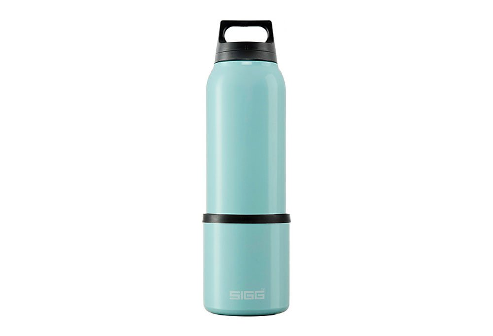 Sigg Trinkflasche, WTR Below, Thermo, Clsc Blaugrün 0,75 ltr