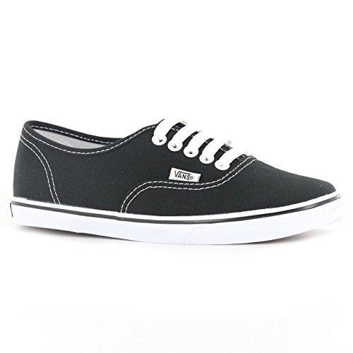 Vans Lo Pro Shoes Black White Men's 5.5/Women's 7