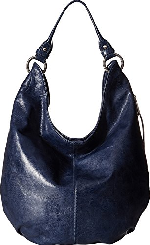 Hobo Women's Leather Vintage Gardner Shoulder Handbag (Royal)