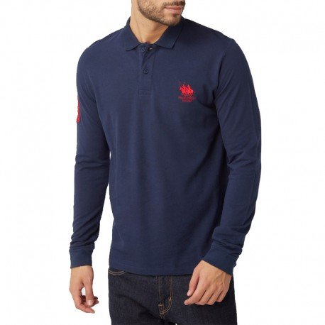 Vêtements Homme Franck Manches Ferry Marine Polo Longues xY4qZnwEAw