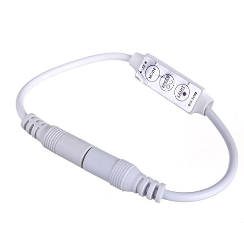 ライト&照明 – 3キー減光コントローラアダプタ単一色LEDストリップライト –  – 実施ガイド付き1個 B079JNYYP1 16050