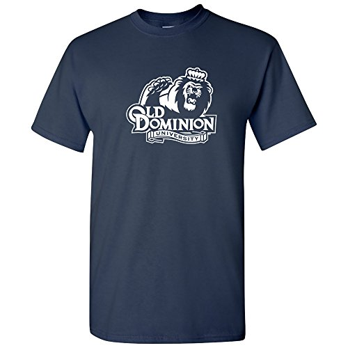 AS02 - Old Dominion Monarchs Primary Logo T-Shirt - 2X-Large - Navy