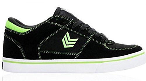 Vox Skateboard Schuhe Trooper Black Green White