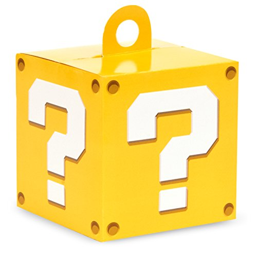 BirthdayExpress Super Mario Party Supplies Empty Favor Boxes (4) ()