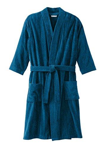 Kingsize Mens Terry Velour Kimono
