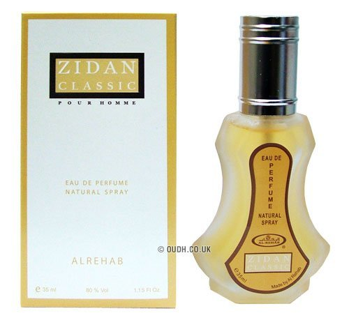 Zidan Classic EDP Perfume Spray by Al- Rehab - 35ml Al Rehab