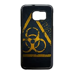 Edge caso de riesgo biológico L3K03G2UQ funda Samsung Galaxy S6 funda KR5227 negro