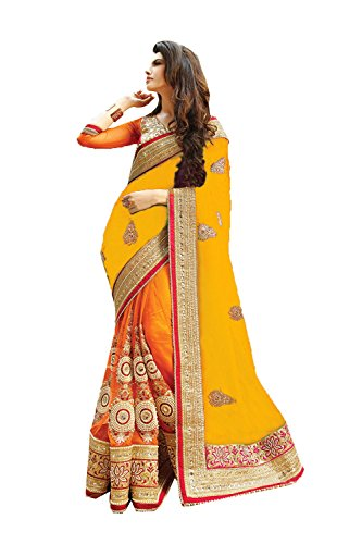 Yellow Sari - 4