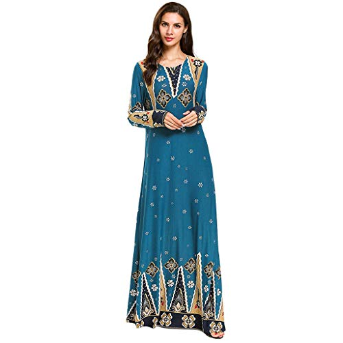 HYIRI Women's Noble Comfortable Long Dress Blue]()