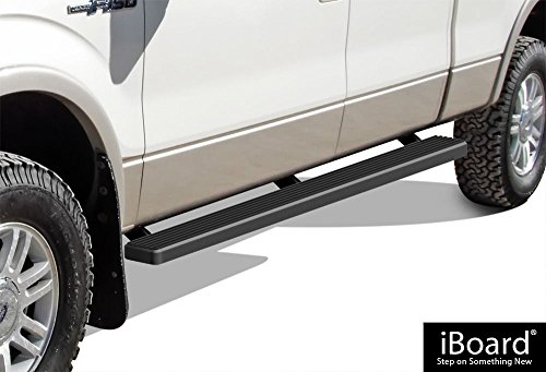 APS IB-F4177B Matte Black iBoard Bolt Over for select Ford F-150 Models