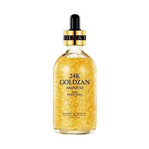 ([Maison de Nature] 24k GOLDZAN AMPOULE 99.9% Pure Gold Serum of The Year in)