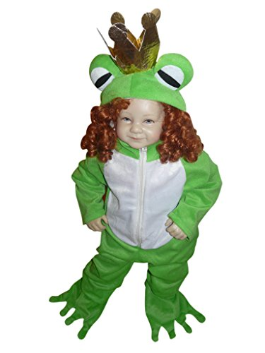 [Fantasy World Boys/Girls Frog Prince Halloween Costume, Size 12-18 months, Sy12] (Prince Frog Costumes)