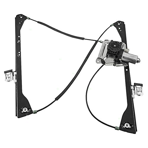 Drivers Front Power Window Lift Regulator with Motor Assembly Replacement for Buick Pontiac SUV 15911246