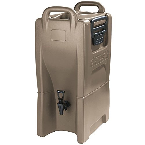 Carlisle IT50043 Cateraide IT Insulated Beverage Server / Dispenser, 5 Gallon, Caramel