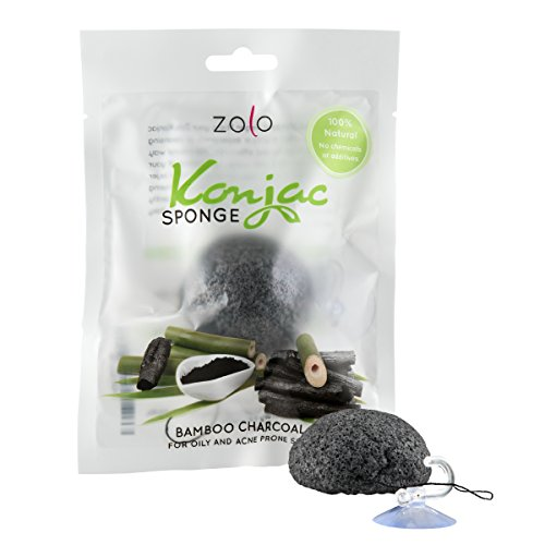 Zolo Natural Konjac Facial Cleanser – Bath Sponge for Fac...