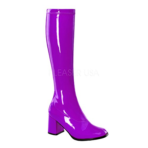 Alto Funtasma 300 Da Donna Collo Gogo Scarpe Patent A Porpora purple rxwPXxZ