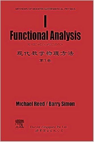 Methods of Modern Mathematical Physics. Functional Analysis