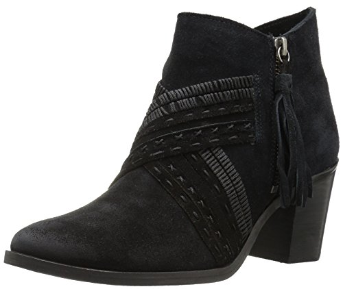(Naughty Monkey Women's Noah Ankle Bootie, Black, 7.5 M US)